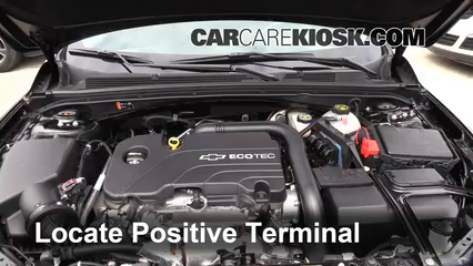 How to Jumpstart a 2016-2019 Chevrolet Malibu - 2016 Chevrolet Malibu LT 1.5L 4 Cyl. Turbo