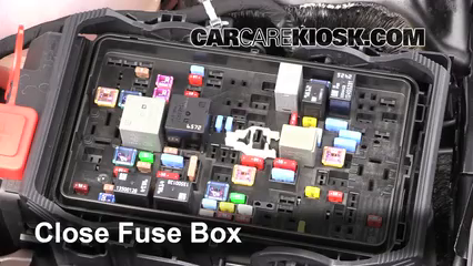 Blown Fuse Check 2016-2019 Chevrolet Malibu - 2016 Chevrolet Malibu