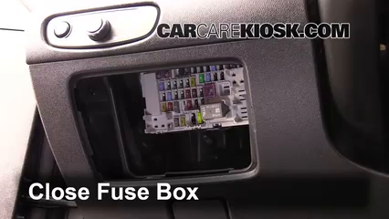 Interior Fuse Box Location: 2016-2019 Chevrolet Malibu - 2016