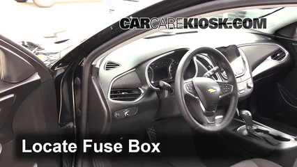 Interior Fuse Box Location: 2016-2019 Chevrolet Malibu ... on