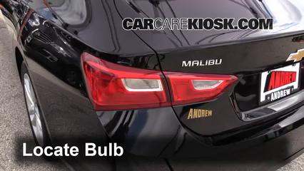 Tail Light Change 2016-2019 Chevrolet Malibu - 2016