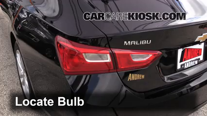 2016 Chevrolet Malibu LT 1.5L 4 Cyl. Turbo Luces