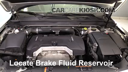2016 Chevrolet Malibu Limited LT 2.5L 4 Cyl. Brake Fluid