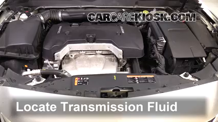 2016 Chevrolet Malibu Limited LT 2.5L 4 Cyl. Transmission Fluid