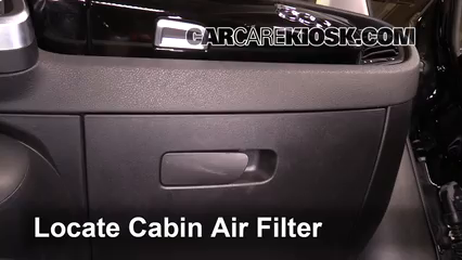 2016 Fiat 500X Easy 2.4L 4 Cyl. Air Filter (Cabin)