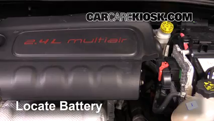 2016 Fiat 500X Easy 2.4L 4 Cyl. Battery