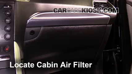 How To Access The Old Cabin Air Filter