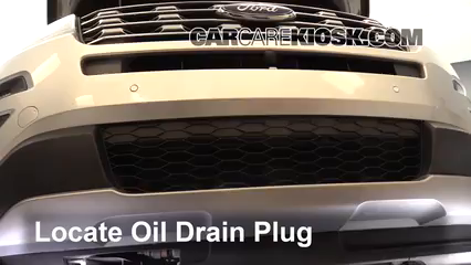 2016 Ford Explorer Limited 2.3L 4 Cyl. Turbo Oil Change Oil and Oil Filter