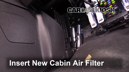Cabin Filter Replacement: Ford Focus 2012-2018 - 2016 Ford
