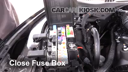 [WQZT_9871]  Replace a Fuse: 2015-2019 Ford Mustang - 2016 Ford Mustang V6 3.7L V6 Coupe | 2015 Mustang Fuse Box Location |  | CarCareKiosk