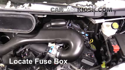 2016 Ford Transit-350 HD XLT 3.7L V6 FlexFuel Fusible (motor)
