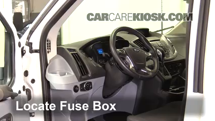 2016 Ford Transit-350 HD XLT 3.7L V6 FlexFuel Fusible (interior)