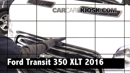2016 Ford Transit-350 HD XLT 3.7L V6 FlexFuel Review