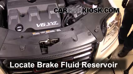 2016 GMC Terrain SLT 3.6L V6 FlexFuel Brake Fluid