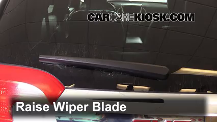 2016 GMC Terrain SLT 3.6L V6 FlexFuel Windshield Wiper Blade (Rear)