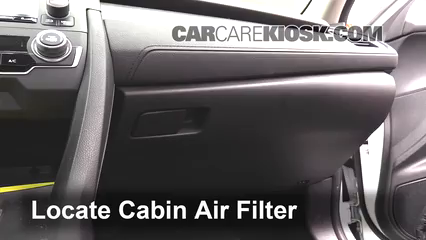 2016 Honda Civic LX 2.0L 4 Cyl. Sedan Air Filter (Cabin)