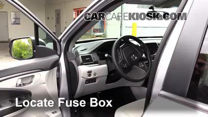 interior fuse box location 2016 2019 honda pilot 2016 honda pilot 2013 Accord Fuse Box