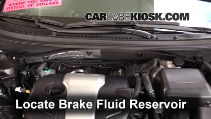 2016 Hyundai Sonata Eco 1.6L 4 Cyl. Turbo Brake Fluid