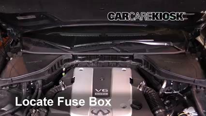 [DIAGRAM_4FR]  Replace a Fuse: 2014-2019 Infiniti Q70 - 2016 Infiniti Q70 3.7 3.7L V6 | Infiniti Q50 Fuse Box |  | CarCareKiosk