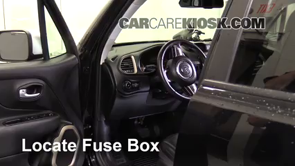 Interior    Fuse Box Location  20152019    Jeep    Renegade  2016