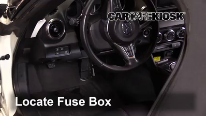 2016 Mazda MX-5 Miata Grand Touring 2.0L 4 Cyl. Fuse (Interior)