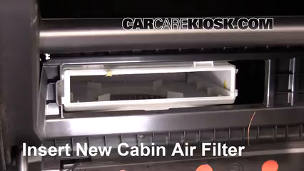 Cabin Filter Replacement: Mitsubishi Outlander 2014-2019 ...