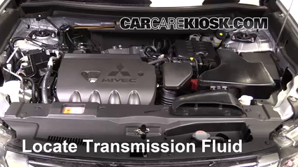 Add Transmission Fluid: 2014-2019 Mitsubishi Outlander