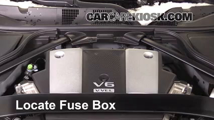 2016 Nissan 370Z 3.7L V6 Coupe Fuse (Engine) Check