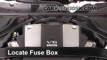 replace a fuse 2009 2017 nissan 370z 2016 nissan 370z 3 7l v6 coupe rh carcarekiosk com 2008 Nissan Titan Fuse Box Diagram 2014 Nissan Altima Fuse Box Diagram