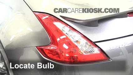 blown fuse check 2009 2017 nissan 370z 2016 nissan 370z 3 7l v6 coupe2016 nissan 370z 3 7l v6 coupe lights brake light (replace bulb)