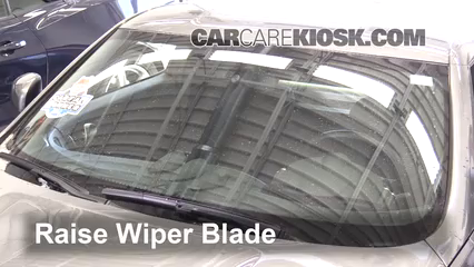 2016 Nissan 370Z 3.7L V6 Coupe Windshield Wiper Blade (Front) Replace Wiper Blades