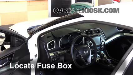 Interior    Fuse       Box    Location  20162019    Nissan       Maxima     2016