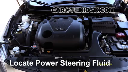 2016 Nissan Maxima SR 3.5L V6 Power Steering Fluid