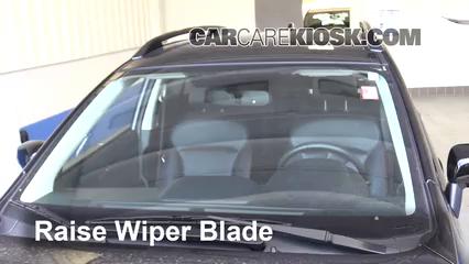 Front Wiper Blade Change Subaru Crosstrek 2013 2018