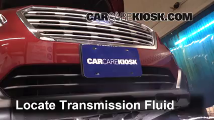 Transmission Fluid Level Check Subaru Outback (2015-2019