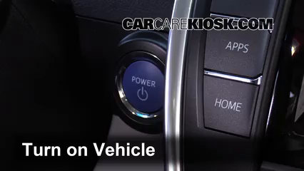 Engine Light Is On: 2012-2014 Toyota Camry - What to Do - 2012