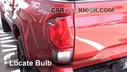 2016 toyota tacoma sr5 3 5l v6 crew cab pickup lights reverse light  (replace bulb