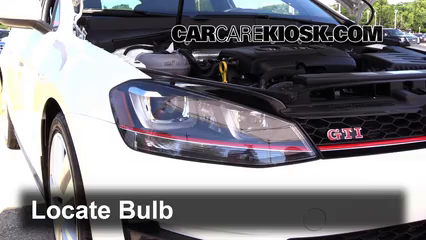 Check Oil Level 2015-2019 Volkswagen GTI - 2016 Volkswagen