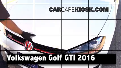 2016 Volkswagen GTI S 2.0L 4 Cyl. Turbo Hatchback (4 Door) Review