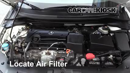 2016 Acura ILX 2.4L 4 Cyl. Filtre à air (moteur)