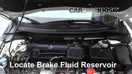 2016 Acura ILX 2.4L 4 Cyl. Brake Fluid