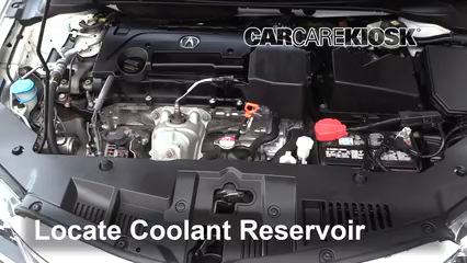 2016 Acura ILX 2.4L 4 Cyl. Coolant (Antifreeze)