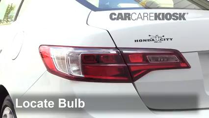 2016 Acura ILX 2.4L 4 Cyl. Luces Luz de reversa (reemplazar foco)