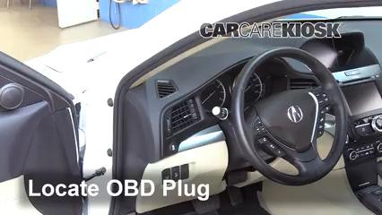 2016 Acura ILX 2.4L 4 Cyl. Lumière « Check engine » du moteur