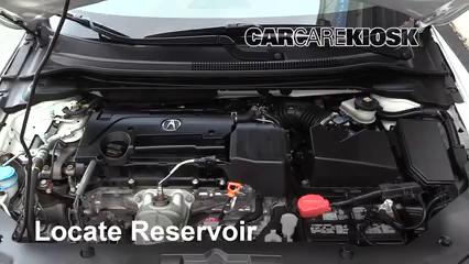 2016 Acura ILX 2.4L 4 Cyl. Windshield Washer Fluid
