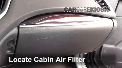 2016 Acura TLX SH-AWD 3.5L V6 Filtre à air (intérieur)