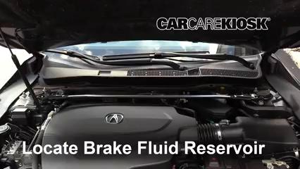 2016 Acura TLX SH-AWD 3.5L V6 Líquido de frenos Agregar fluido