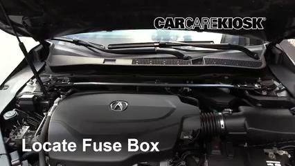 2016 Acura TLX SH-AWD 3.5L V6 Fusible (moteur)