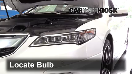 2016 Acura TLX SH-AWD 3.5L V6 Luces Luz de carretera (reemplazar foco)