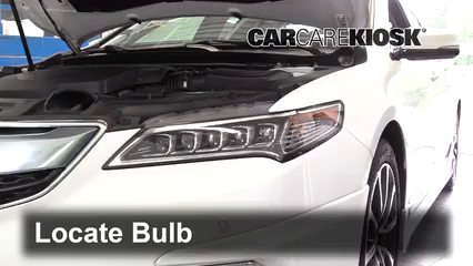 2016 Acura TLX SH-AWD 3.5L V6 Luces Luz de estacionamiento (reemplazar foco)